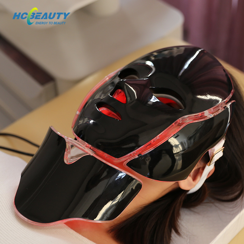 Led Therapy Mask Neck Rejuvenation Skin Therapy Wrinkles