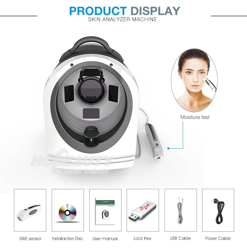 Aesthetic And Spa Skin Analysis Machine With Camera