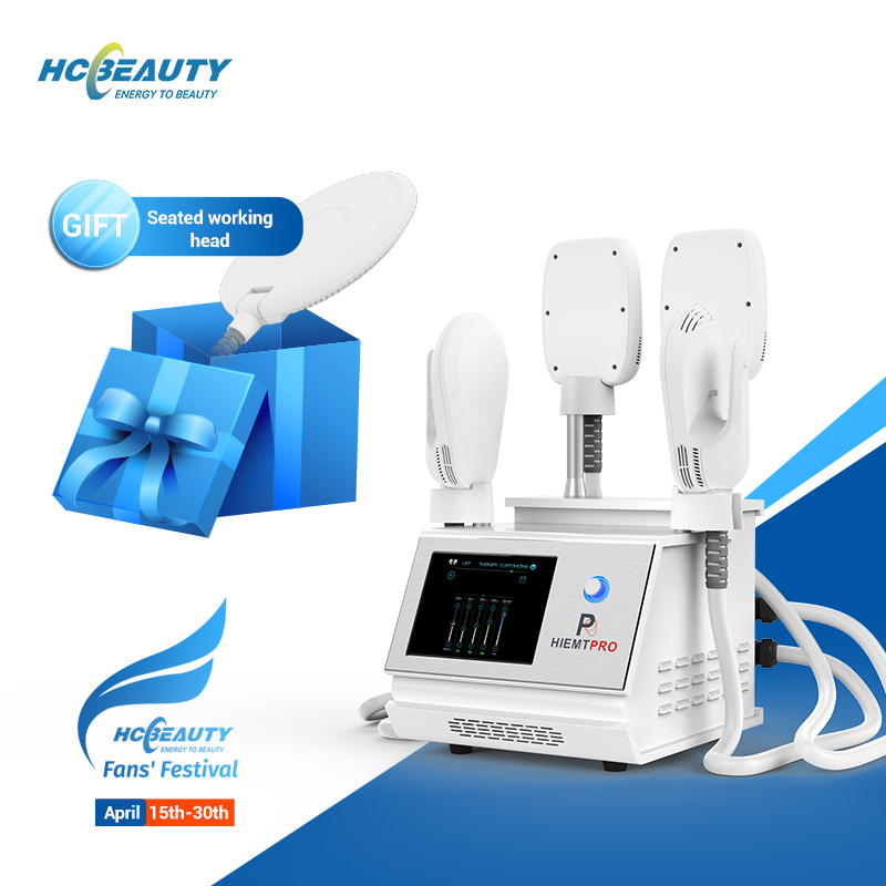 HCBEAUTY Trending Mulscle Building Fat Removal Portable HI-EMT Machine