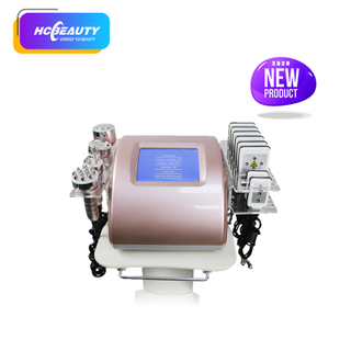 6in1 Portable Ultrasonic Rf Vacuum Cavitation Machine for Fat Removal And Skin Tighten