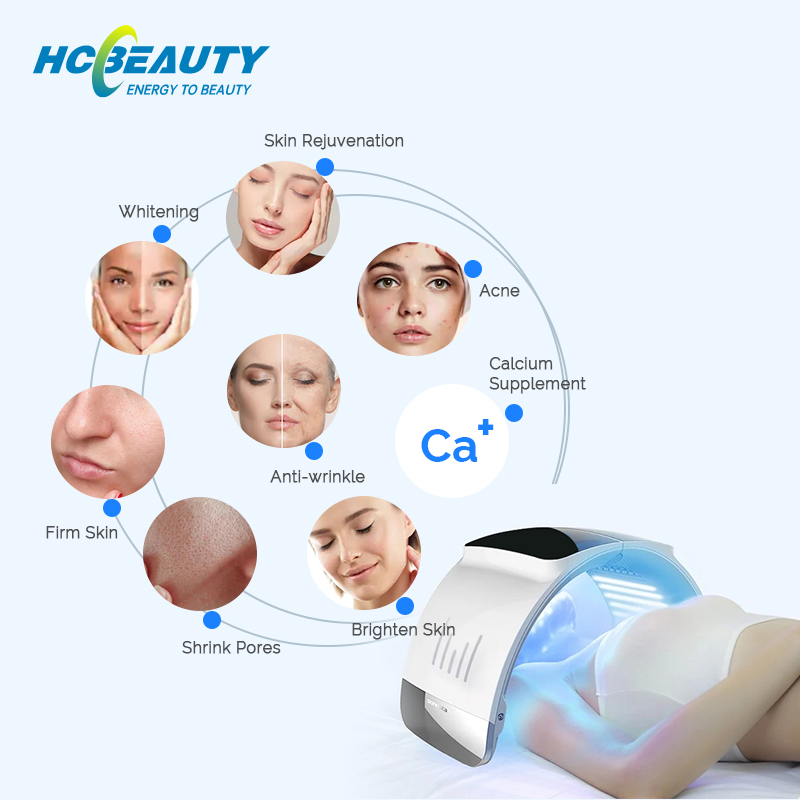 Skin Rejuvenation Acne Removal Aesthetics Equipment Pdt Led