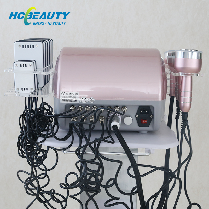 40k Cavitation Machine 6 in 1 Laser Rf Weight Loss for Sale