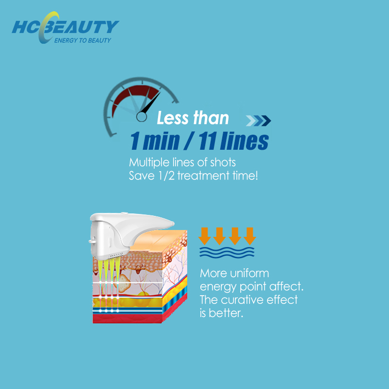 MARCH Expo 2021 Newest 4D HIFU Korea 12 Lines 8 Cartridges Ultra Lift HIFU Machine