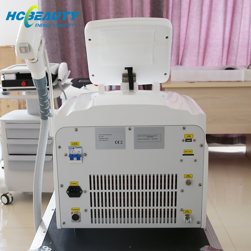 Desktop 3 Wavelengths Diode Laser Machine for Hair Removal BM15