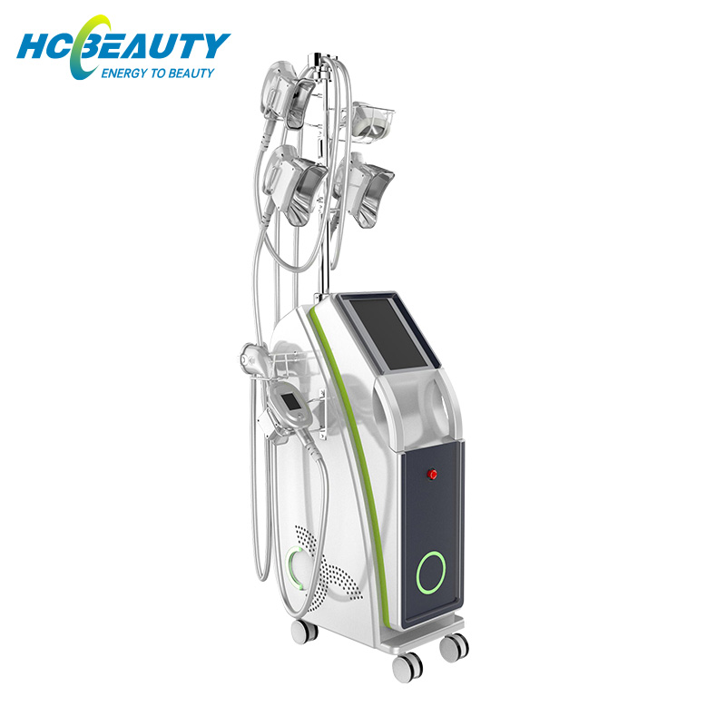 Cryolipolyse Fat Freezing Machine Cooling System Double Chin And Slimming