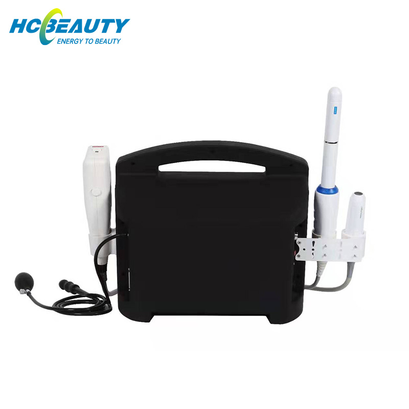 Newest Tech 2 in 1 Hifu Vaginal Tightening Machine Skin Tightening Face Lifting Machine